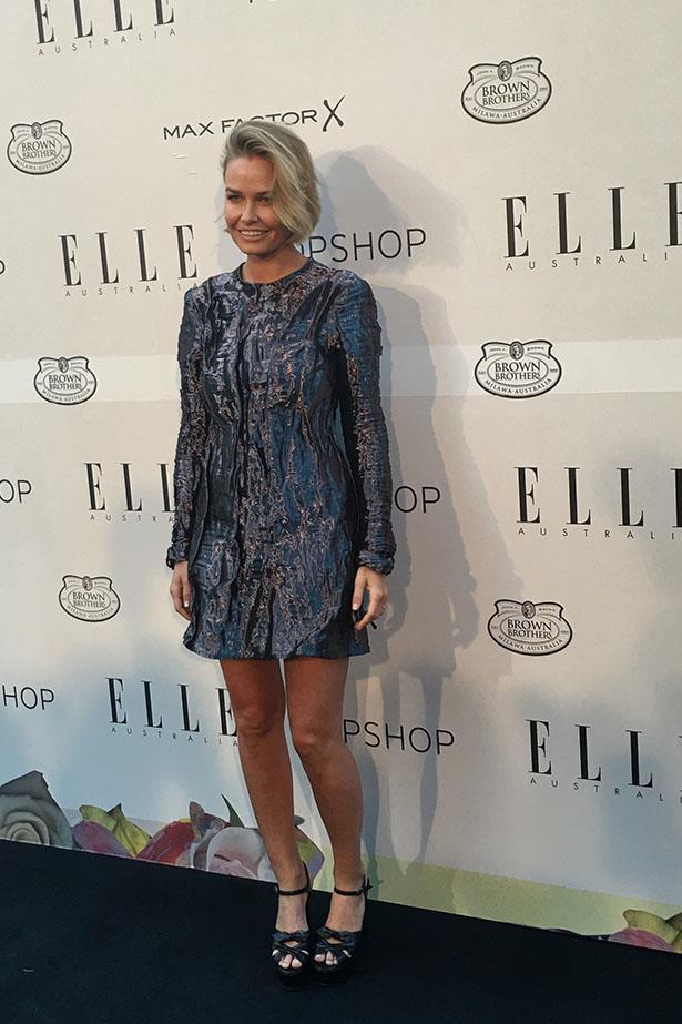 Lara Worthington wearing Ellery at the ELLE Style Awards.