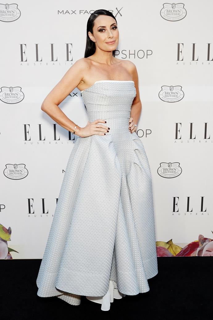 Terry Biviano at the ELLE Style Awards.