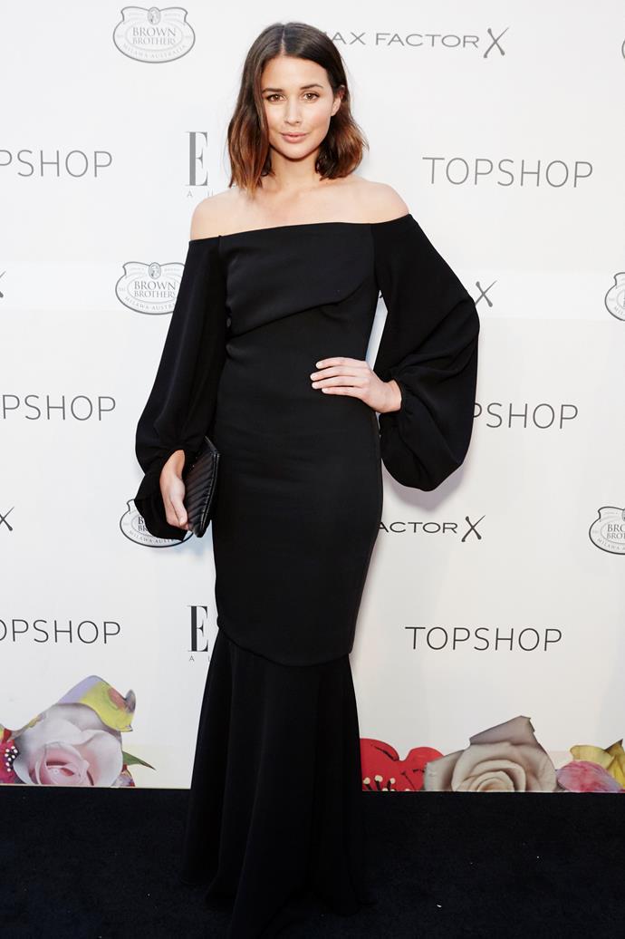 Sara Donaldson arrives at the ELLE Style Awards