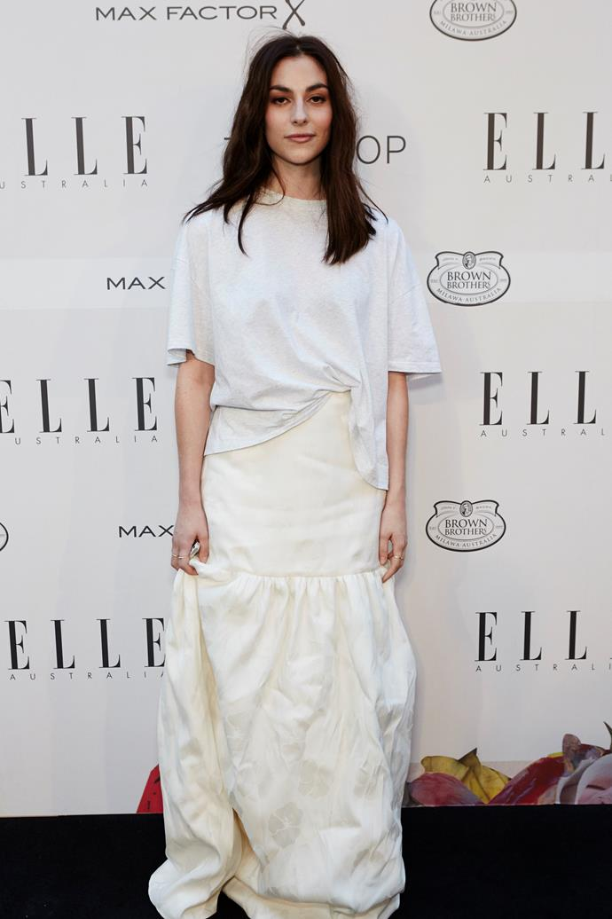Georgia Curry from Georgia Alice at the ELLE Style Awards.