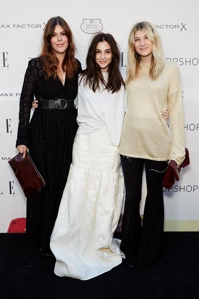 Guests arrive at the ELLE Style Awards.