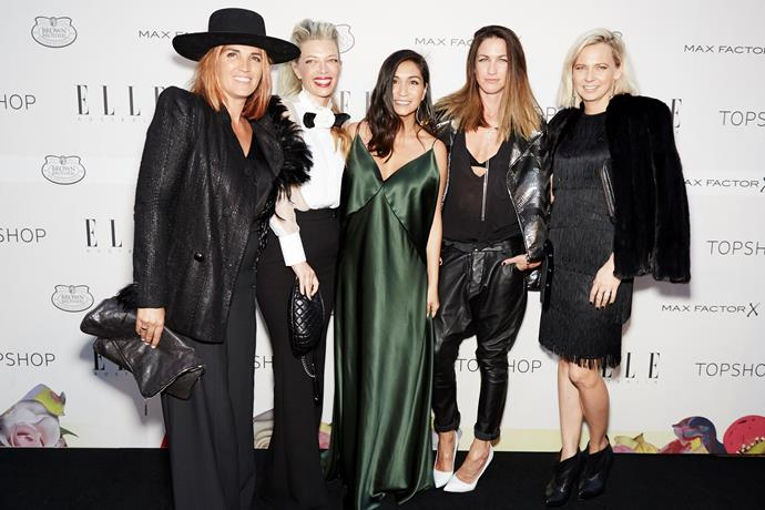 ELLE editor-in-chief Justine Cullen at the ELLE Style Awards.