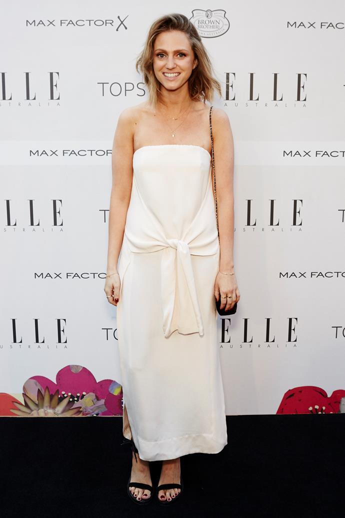 Dee Jenner arrives at the ELLE Style Awards.