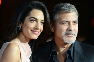 Amal Clooney and George Clooney Adopt A Dog