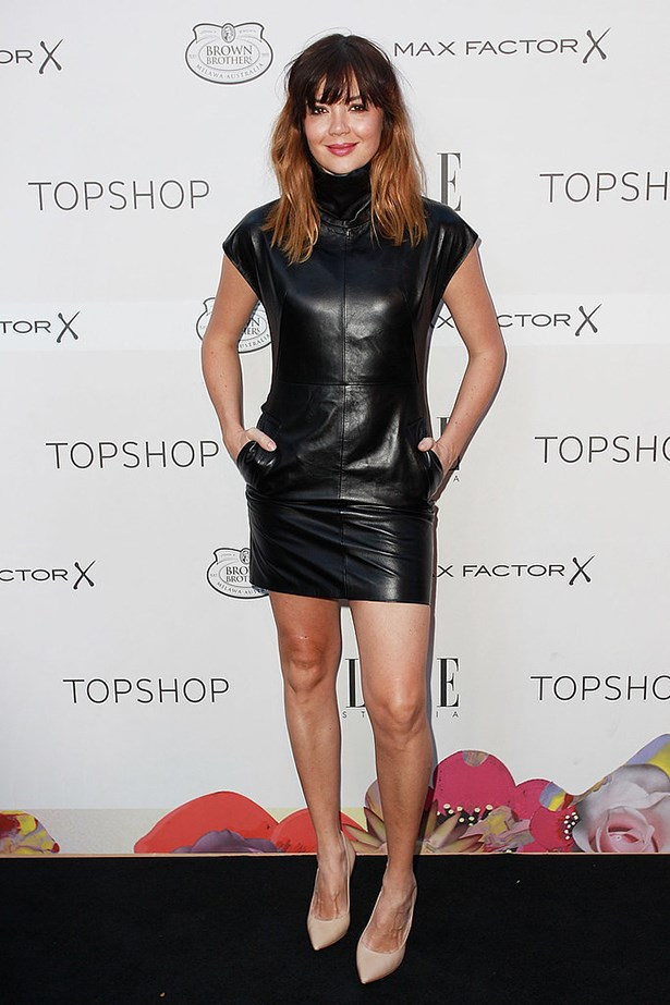 Celebrities in Topshop