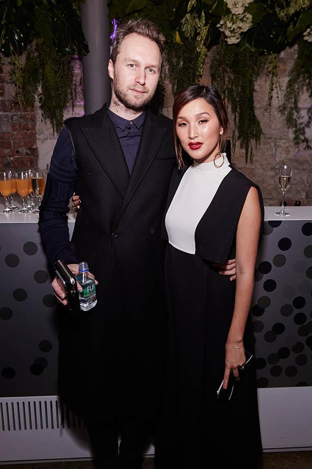 Toni Maticevski and Nicole Warne at the ELLE Style Awards.