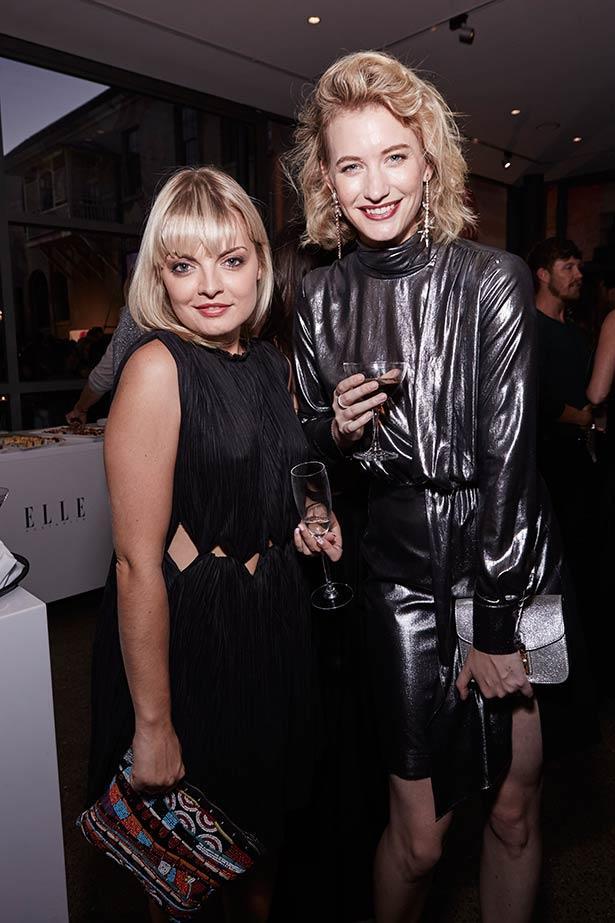 Zanita Whittington (right) at the ELLE Style Awards.
