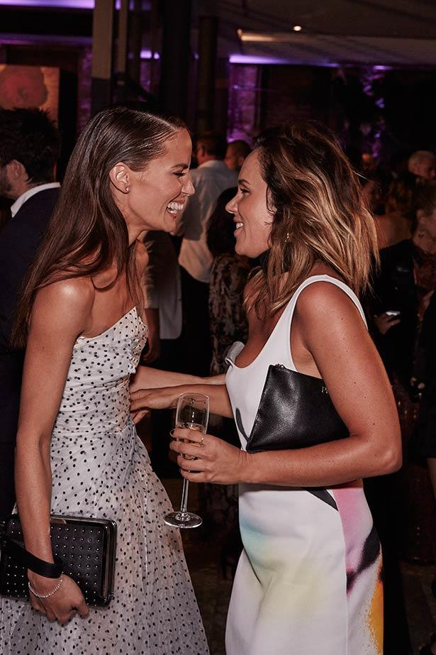 Jodi Anasta and Pip Edwards at the ELLE Style Awards.