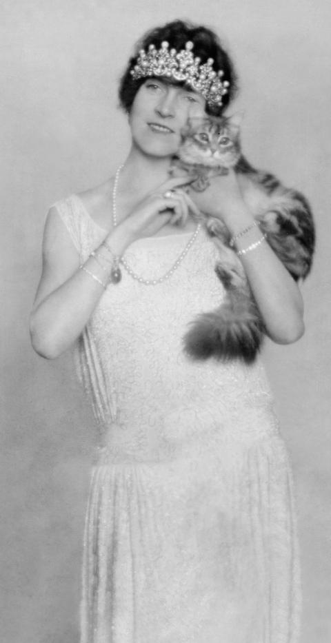 <strong>KAROLINE KORNELIA STOCKHAMMER, WIFE OF PRINCE JOACHIM ALBRECHT OF PRUSSIA, 1923</strong>