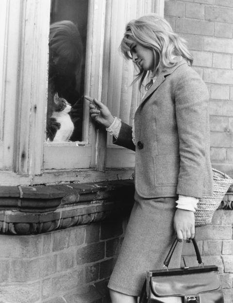 <strong>JULIE CHRISTIE, 1963</strong>