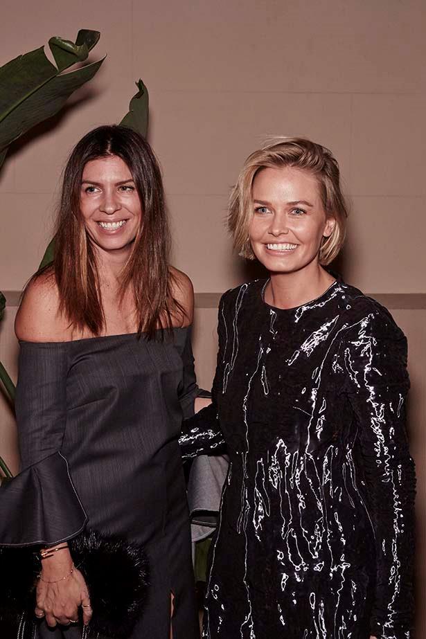 Emma Van Handel and Lara Worthington at the ELLE Style Awards.