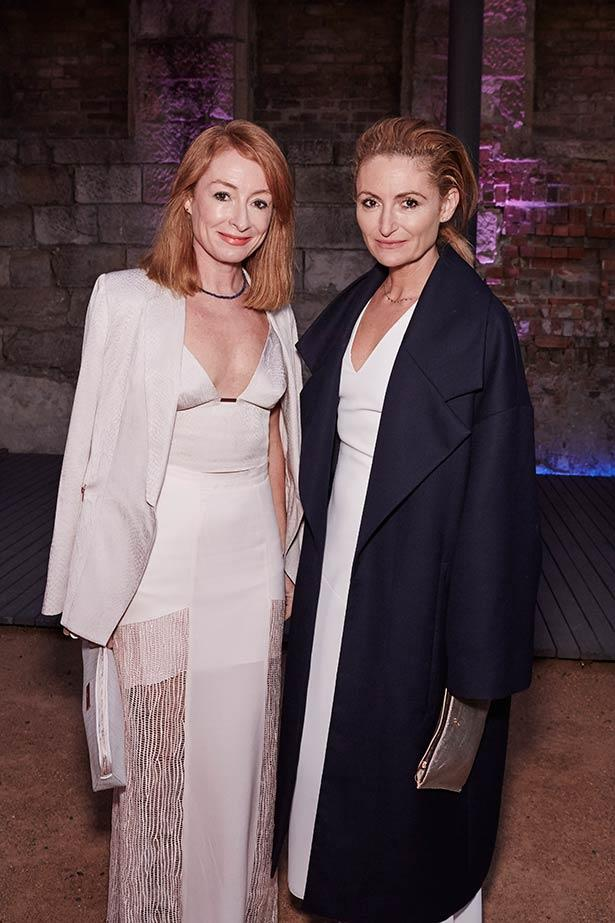 Alexandra and Genevieve Smart at the ELLE Style Awards.