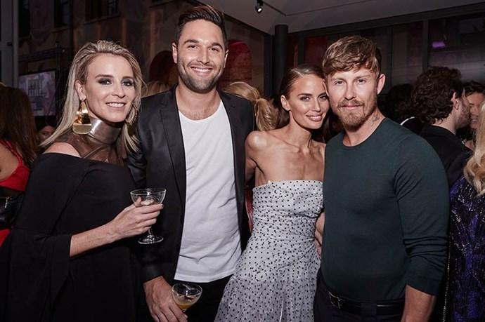 Amanda Shadforth, Jodi Anasta and Max May at the ELLE Style Awards.
