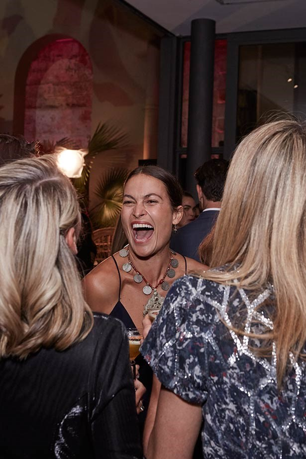 Smiles all round at the ELLE Style Awards.