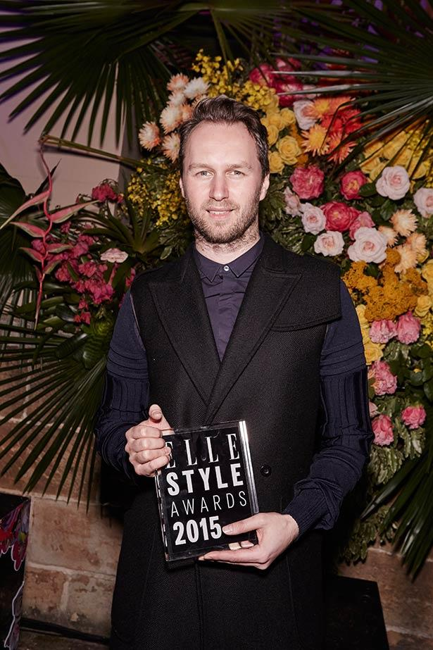Winner of ELLE Australian Designer of The Year, Toni Maticevski.