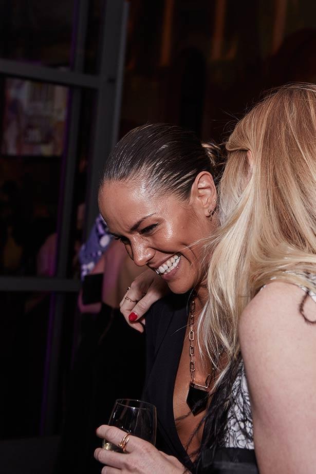 Party goers enjoying the ELLE Style Awards.
