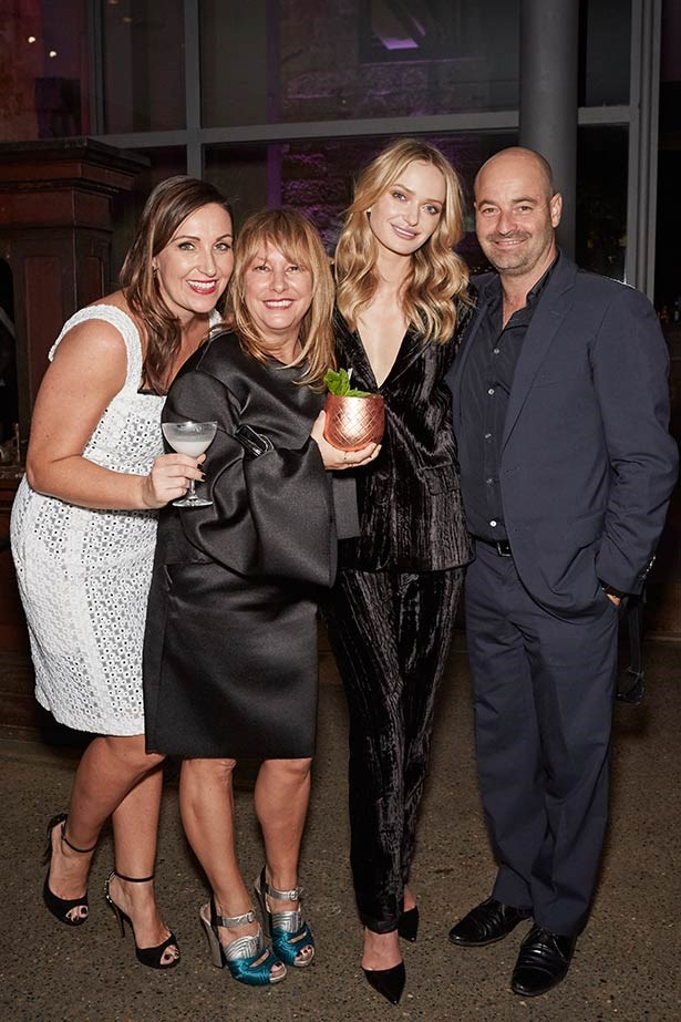 Party goers at the ELLE Style Awards.