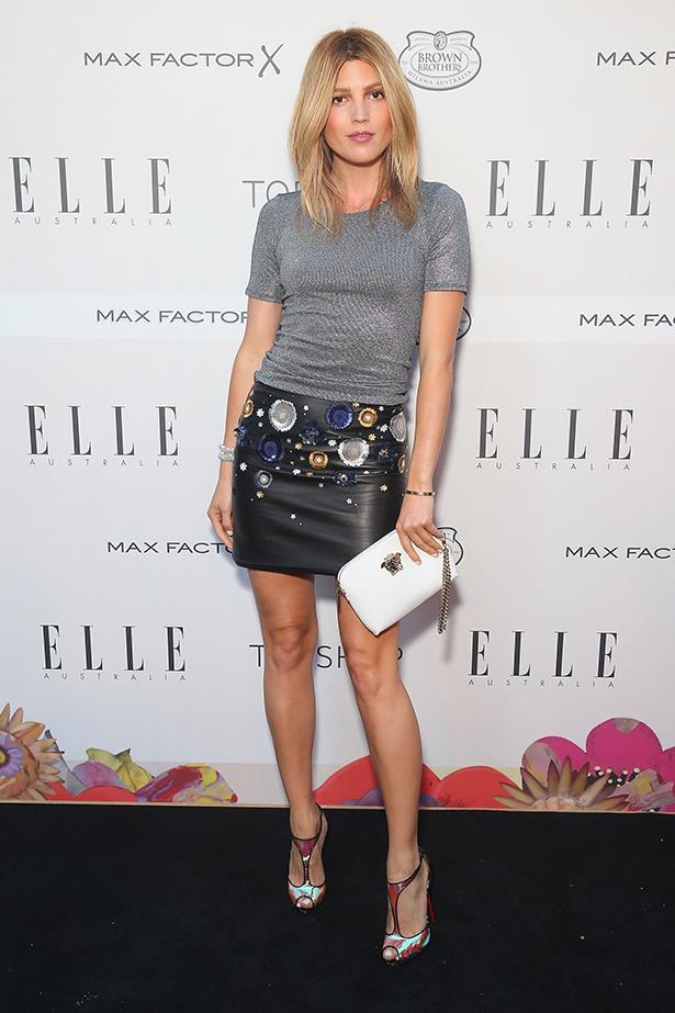 Australian blogger and model Tanja Gacic wears Topshop.