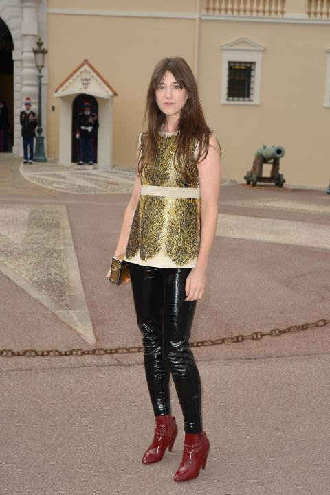 """<strong>CHARLOTTE GAINSBOURG</strong> <br> <br> """"Style for me is a casual way of putting something on. It's not thought out but needs to suit your way of life. Now I like wearing the same sweater over and over again, then taking it off when it's smelly."""" - to <a href=""""http://www.wsj.com/articles/SB10001424052970203358704577237373690395912"""">WSJ</a>"""