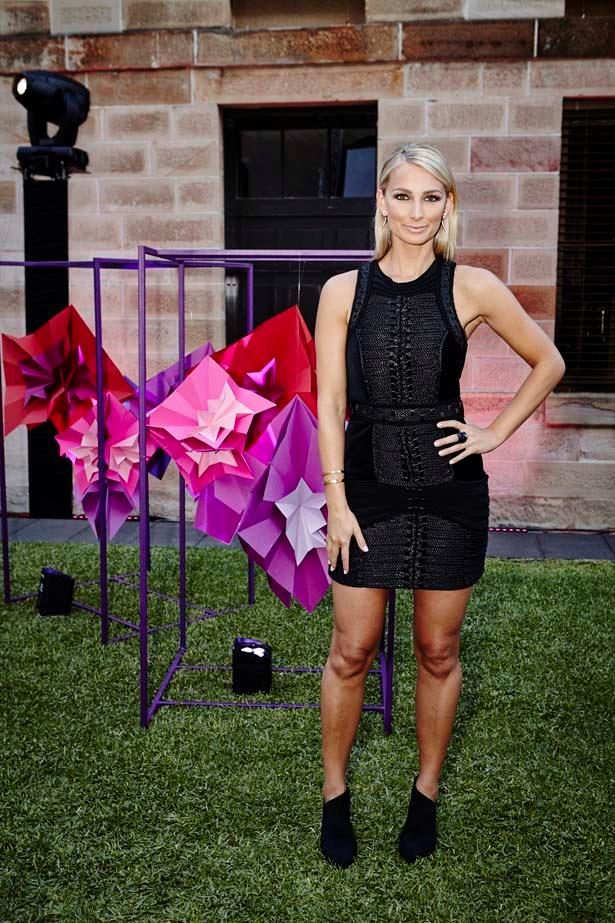 Anna Heinrich at the event.