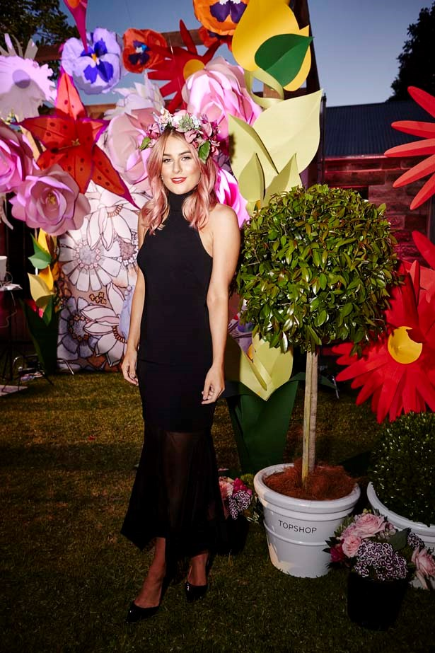 Carissa Walford at the ELLE Style Awards.