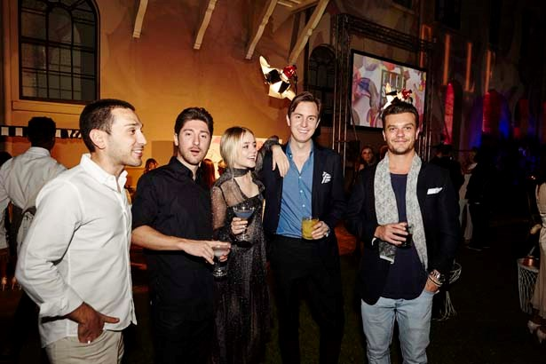 Guests at the ELLE Style Awards.