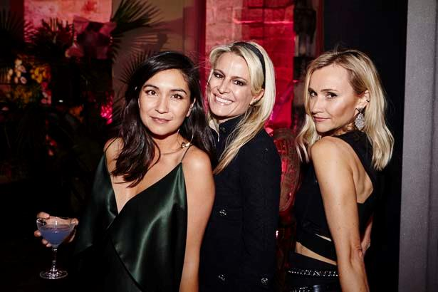 ELLE Editor Justine Cullen and guests at the ELLE Style Awards.