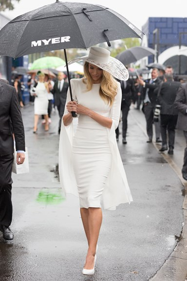Best Dressed At Derby Day Spring Carnival 2015