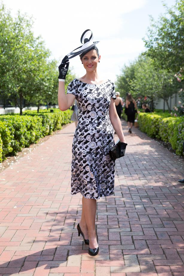 Name: Gabriella Deieso<br><br> Outfit: Dress By Johnny, shoes Tony Bianc, bag Oroton <br><br> Race day: Derby Day 2015 <br><br> Location: Melbourne <br><br>