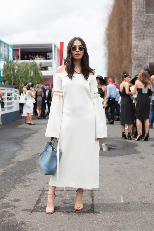 Name: Jessica Gomes <br><br> Race day: Derby Day 2015 <br><br> Location: Melbourne <br><br>