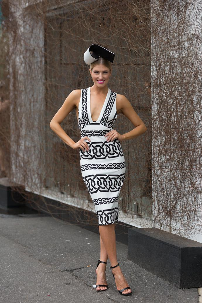 Name: Erin Holland<br><br> Race day: Derby Day 2015 <br><br> Location: Melbourne
