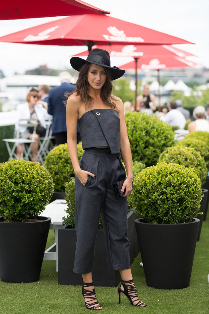 Name: Isabella Giovinazzo<br><br> Race day: Derby Day 2015 <br><br> Location: Melbourne
