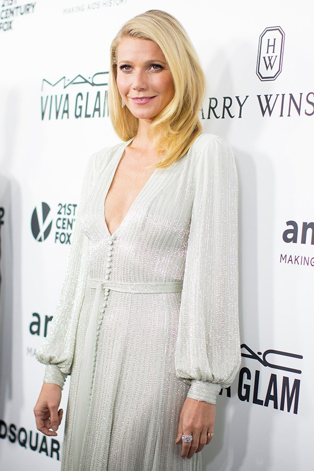 Gwyneth Paltrow attends the AmfAR Inspiration Gala in LA.