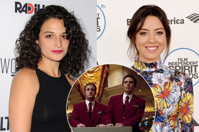 As for the hilariously un-co brothers, Virgil and Turk Malloy, we think funny girls, Jenny Slate and Aubrey Plaza, will do the trick as Virginia and Tracy Malloy.