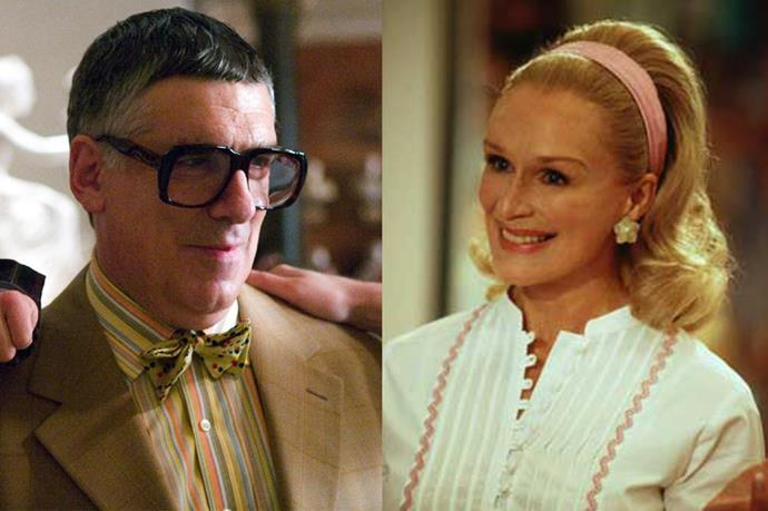 Elliot Gould, in the role of Reuben Tishkoff, could be played by Glenn Close.