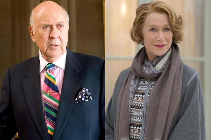 Saul Bloom, played by Carl Reiner, will be a good match for Dame Helen Mirren.