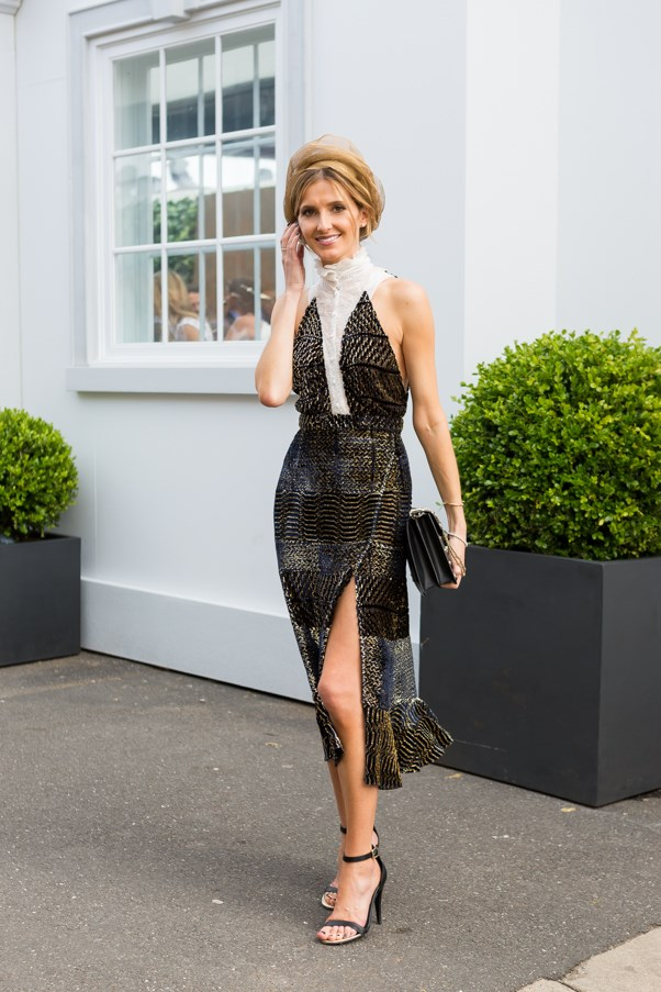 Name: Kate Waterhouse<br><br> Outfit: Altuzarra Studios dress, Hatmaker hat Race day: Melbourne Cup 2015 Location: Flemington, Melbourne