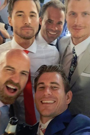 So, The Bachelorette Boys Had a Mini-Reunion At The Melbourne Cup