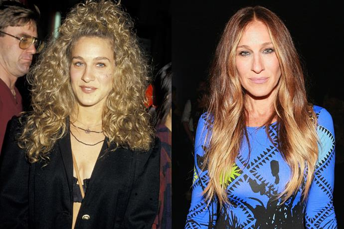 Oh, SJP. The actress worked her original kinks in Sex and the City, but lately she just goes sleek.