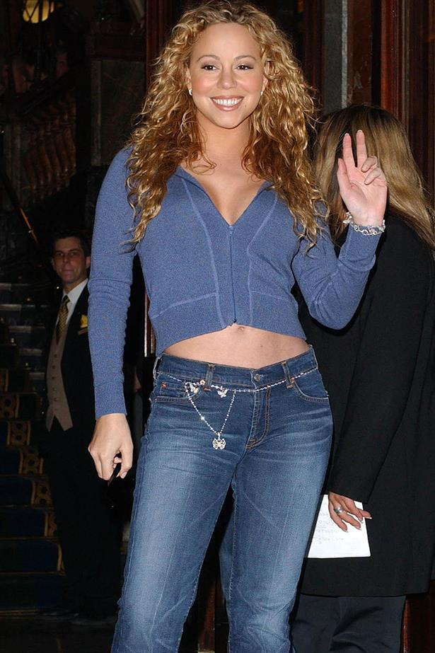 You jazzed up your jeans with some charms (a belt bracelet?) Image: Getty