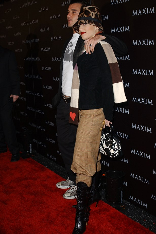 You tried everything that Gwen Stefani wore. It wasn't always recommended. Image: Getty