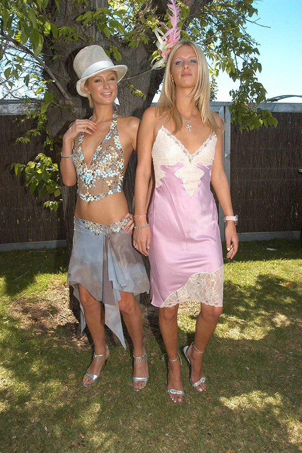Dresses that looked like lingerie, see also camisoles that looked like - or actually were - lingerie. Image: Getty