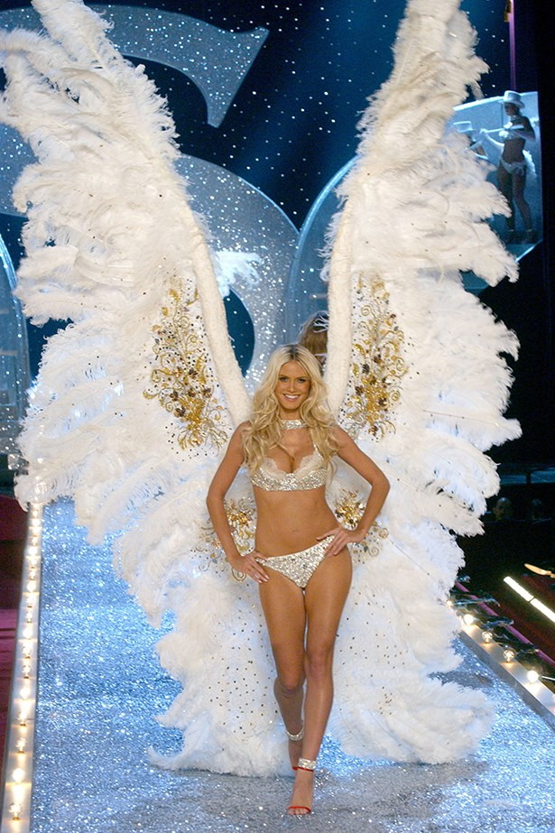 Heidi wore this incredible pair of wings in 2003, which are the tallest wings ever sent down the runway.