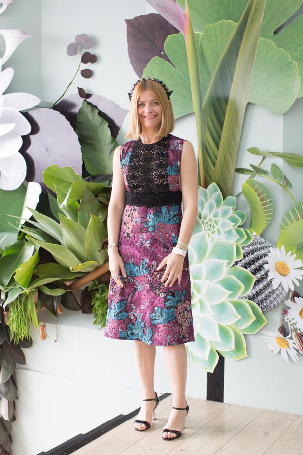 Name: Kellie Hush<br><br> Outfit: Burberry and Hatmaker<br><br> Race day: Oaks Day 2015 <br><br> Location: Flemington, Melbourne<br><br>