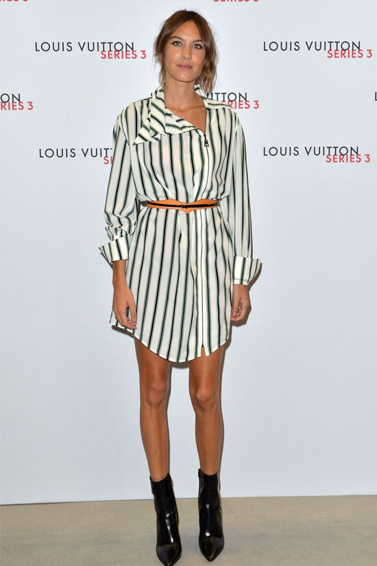 Alexa Chung at the Louis Vuitton Series 3 VIP Launch