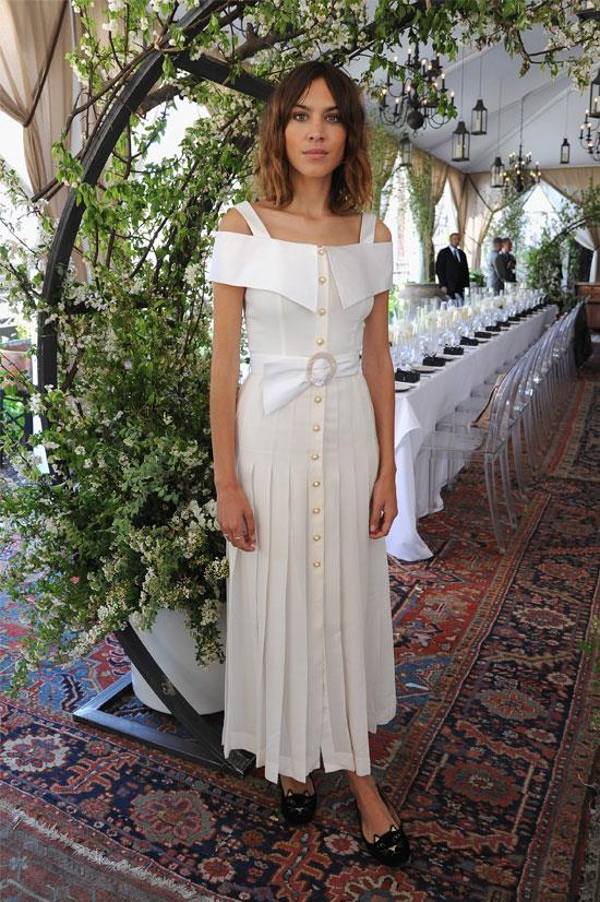 Alexa Chung the Piaget Celebration of its New Possession Collection