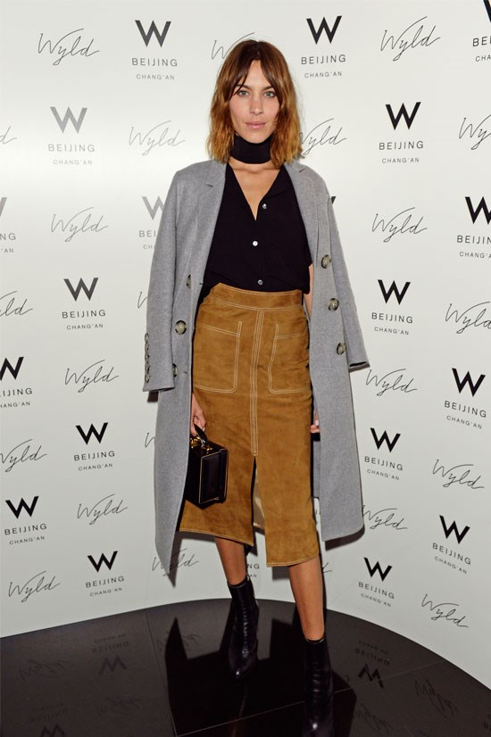 Alexa Chung at the launch of W Beijing in London