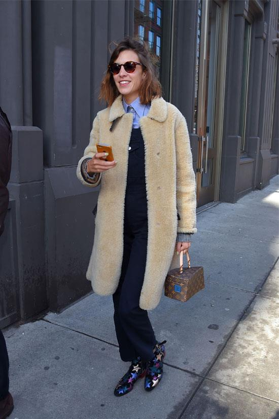 Alexa Chung at the Marc by Marc Jacobs Show in New York