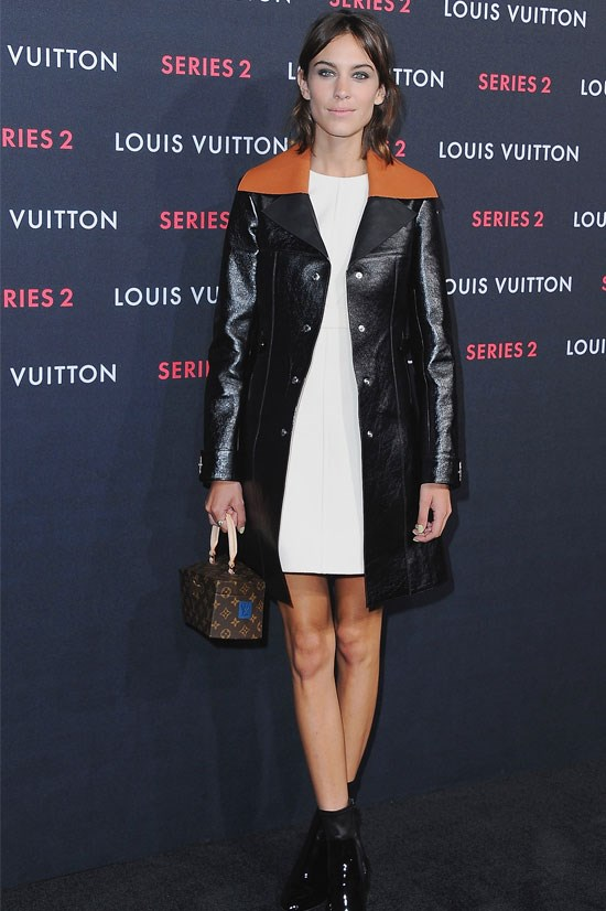 Alexa Chung at the Louis Vuitton 'Series 2' The Exhibition