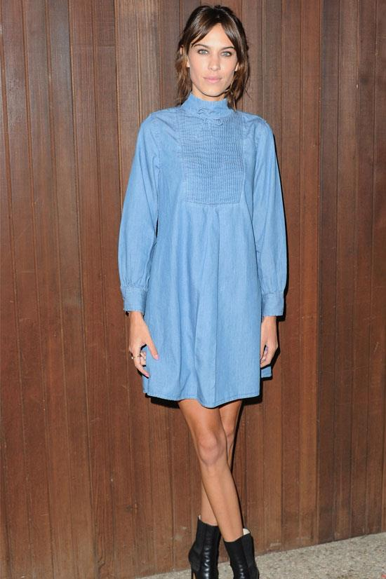 Alexa Chung X AG Collection Los Angeles Launch Party